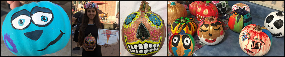 Painted Pumpkin Gallery 2